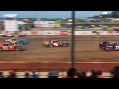 Christian County Fair Stock Car Races, Taylorville IL