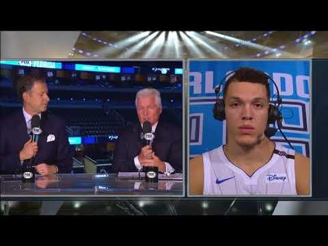 Aaron Gordon -- Orlando Magic vs. New York Knicks 11/08/2017