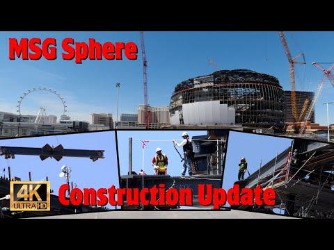 MSG Sphere Las Vegas is starting to take shape!