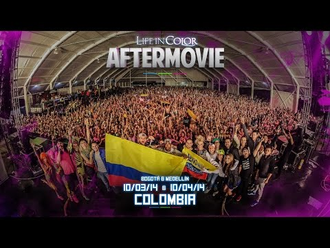 Life In Color - UNLEASH - Bogota & Medellin, Colombia - 10/03-04/14 - Official Aftermovie