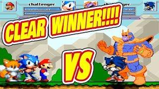 Saitama vs Sonic exe