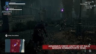 Assassin's Creed Unity Ko-op Raub Mission Kommentierte Demo [DE]