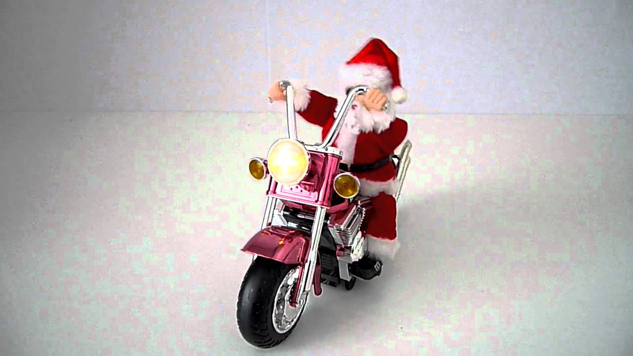 Christmas Gifts Ideas Santa On Harley Davidson