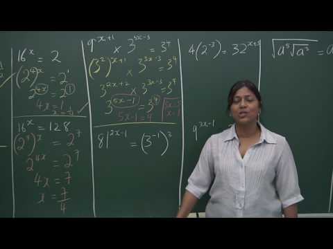 POWERFUL LESSON! Indices  Worked example Advanced Video Part I Delivered By Mrs.Kumar MUST WATCH