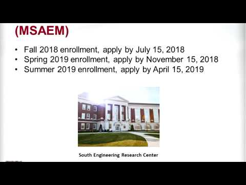 UA's MS / PhD in Aerospace Engineering