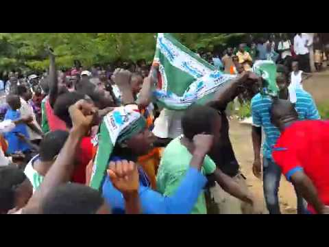 PF cadres in Nyimba
