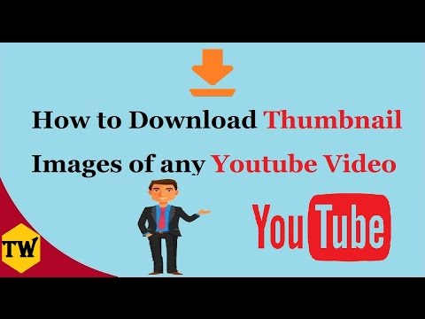 How To Download Thumbnail Images of any YouTube video