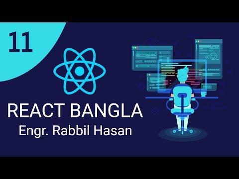 React JS Tutorial Bangla | Part 11 React Props for class component thumbnail