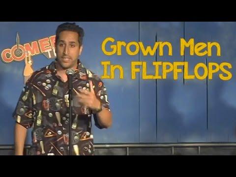 ba7effe08 Grown Men In Flipflops - YouTube
