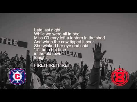 "CF97 Section 8 - Song Lyrics: ""Hot Time in the Old Town Tonight"""