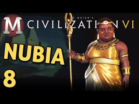 Civilization 6 - Let's Play Nubia #8 - Alexander the Not So Great