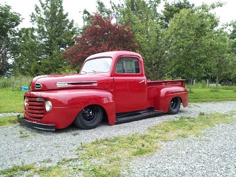 Andy's Red Truck - 1951 Ford Pickup
