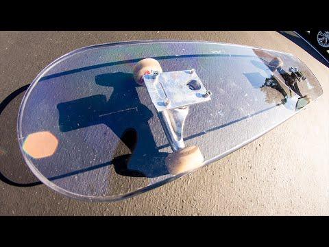 indestructible skateboard 100 polycarbonate