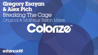 Gregory Esayan & Alex Pich - Breaking The Cage (Original Mix) [OUT NOW]
