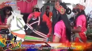 Repeat youtube video Jaran Lumping (Atraksi Kuda Lumping) Burok Dangdut KJM (Krisna Jaya Muda) Serang Wetan