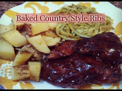 Baked  Boneless Country Style Ribs | HOW TO MAKE COUNTRY STYLE RIBS | Kiwanna's Kitchen