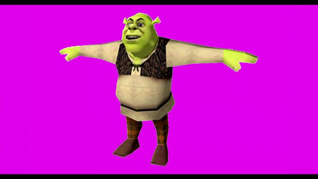 Shrek T Posing For 30 Seconds Straight Youtube