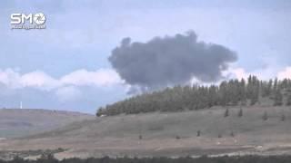 شاهد.. طائرات روسية تقصف درعا للمرة الأولى