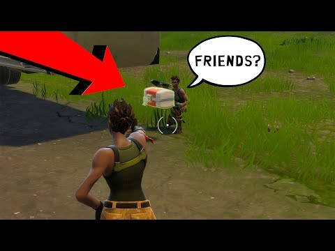 How To Make Friends In Solo | Fortnite Battle Royal