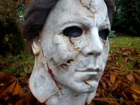 my rz h9 buried michael myers mask youtube - Rob Zombie Halloween Mask For Sale