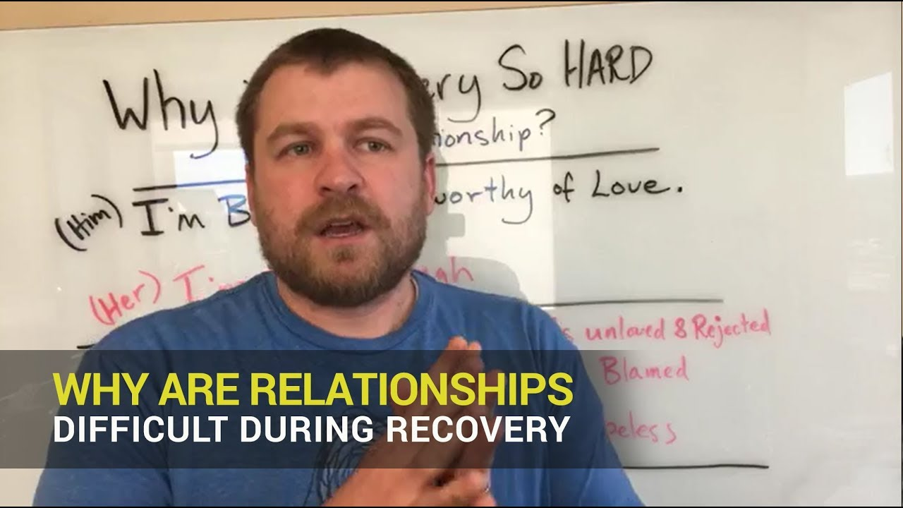 Betrayal Trauma Recovery:  Why are Relationships so Difficult During Recovery?