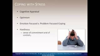 Health Psychology   Coping wth Stress