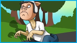 Gmod Hide and Seek Funny Moments Dinosaur Edition! - Playing in Traffic, and Hiding in the Sewer!