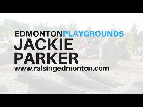 Edmonton Playgrounds: Jackie Parker Playground
