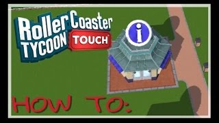how to use information centres rollercoaster tycoon touch rct touch