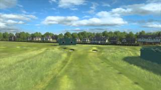 the 143rd open at royal liverpool 2nd hole flyover 2014