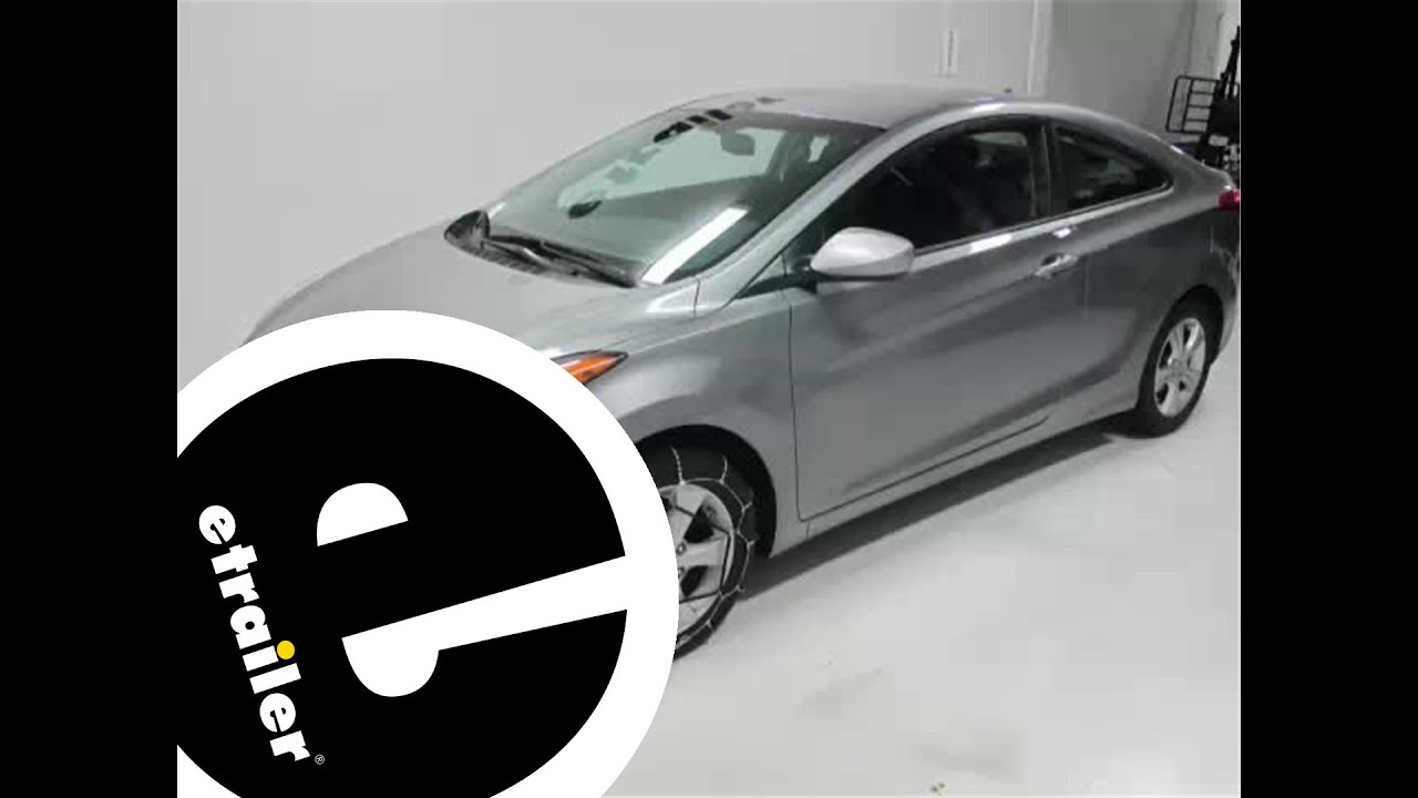 Hyundai Elantra: Snow tires