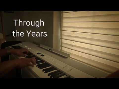 Through the Years piano by Edizon
