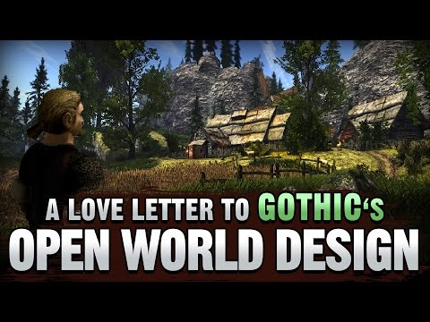A Love Letter to GOTHIC's Open World Design