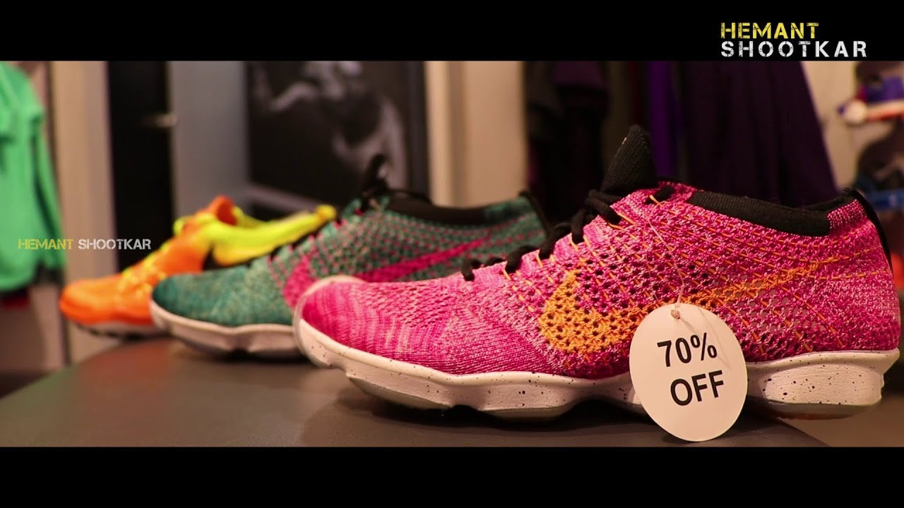 70% OFF Womens Nike Shoes | Nike Factory Store Mumbai Vlog | Mumbai |  Hemant Shootkar