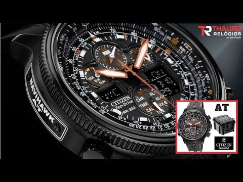 026a9087cd8 REVIEW  Relógio Citizen Navihawk JY8035-04E Promaster Eco-Drive ...