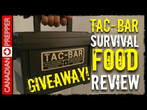 Tac-Bar Survival Food: Full Review | Canadian Prepper