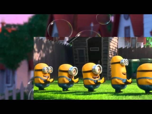 Minions present simple tense