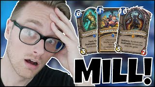 Hearthstone | DOUBLE the Win Condition! | Wild N'zoth Mill Rogue | Saviors of Uldum