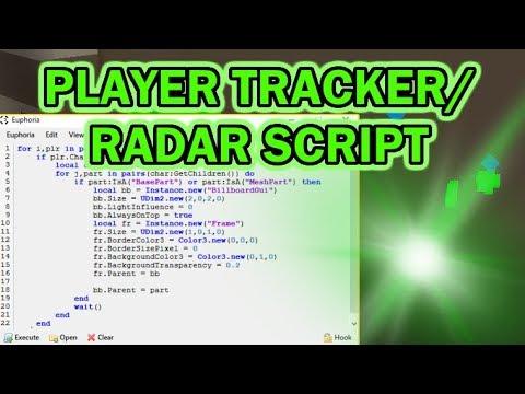 ROBLOX PLAYER TRACKER/RADAR SCRIPT