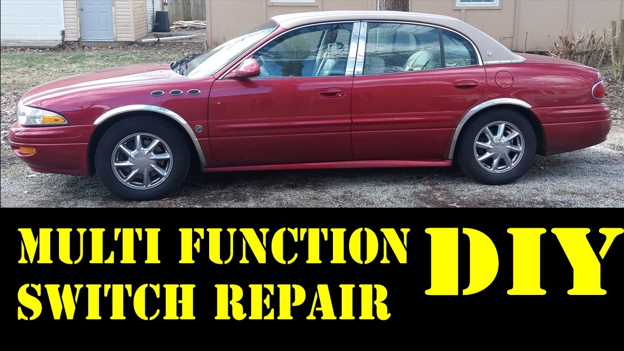 2004 Buick Lesabre multi function switch repair - YouTube