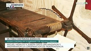 MIGUEL HIDALGO Y JOSEFA ORTIZ ORGANIZARON Y PREPARARON LA CONSPIRACIÓN DE INDEPENDENCIA.
