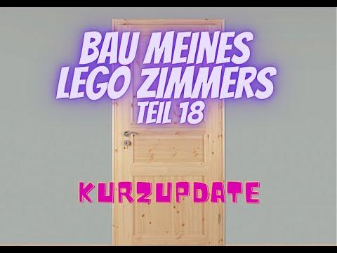 Bau meines LEGO Zimmers Teil 18 - Kurzupdate