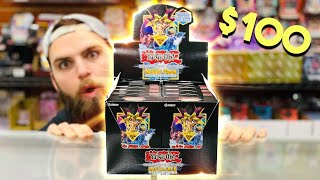 *NEW* Yu-Gi-Oh! SECRET EDITION Movie Pack $100 CHALLENGE! | Dark Side of Dimensions