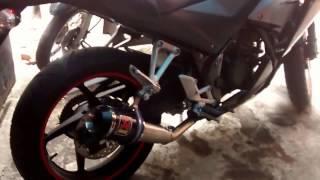 Knalpot CBR 150 R Knalpot Akrapovic Lorenzo Carbon Racing Custom