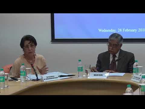 Talk  by Her Excellency Dr. Assia BenSalah Alaoui