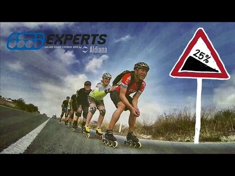 Experts Inline Camp Cyprus 2013 | Inlineskating Roll Skate Blade Experts-in-speed.de