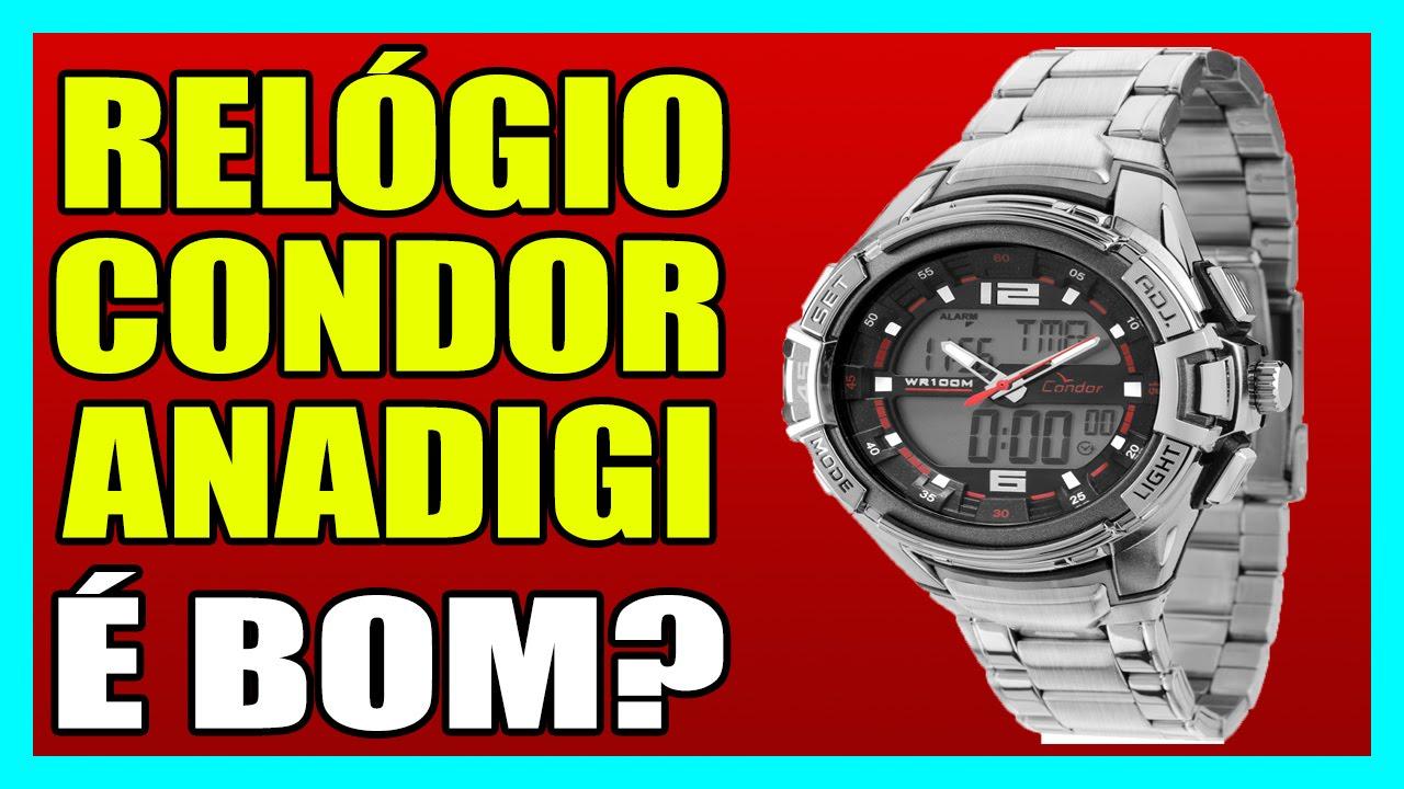 07d97dbd3a7 RELÓGIO CONDOR ANADIGI - Relógio