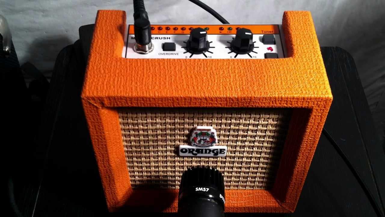 Orange Micro Crush Demo on
