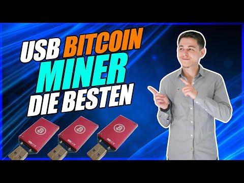 Die besten USB Bitcoin Miner 2021