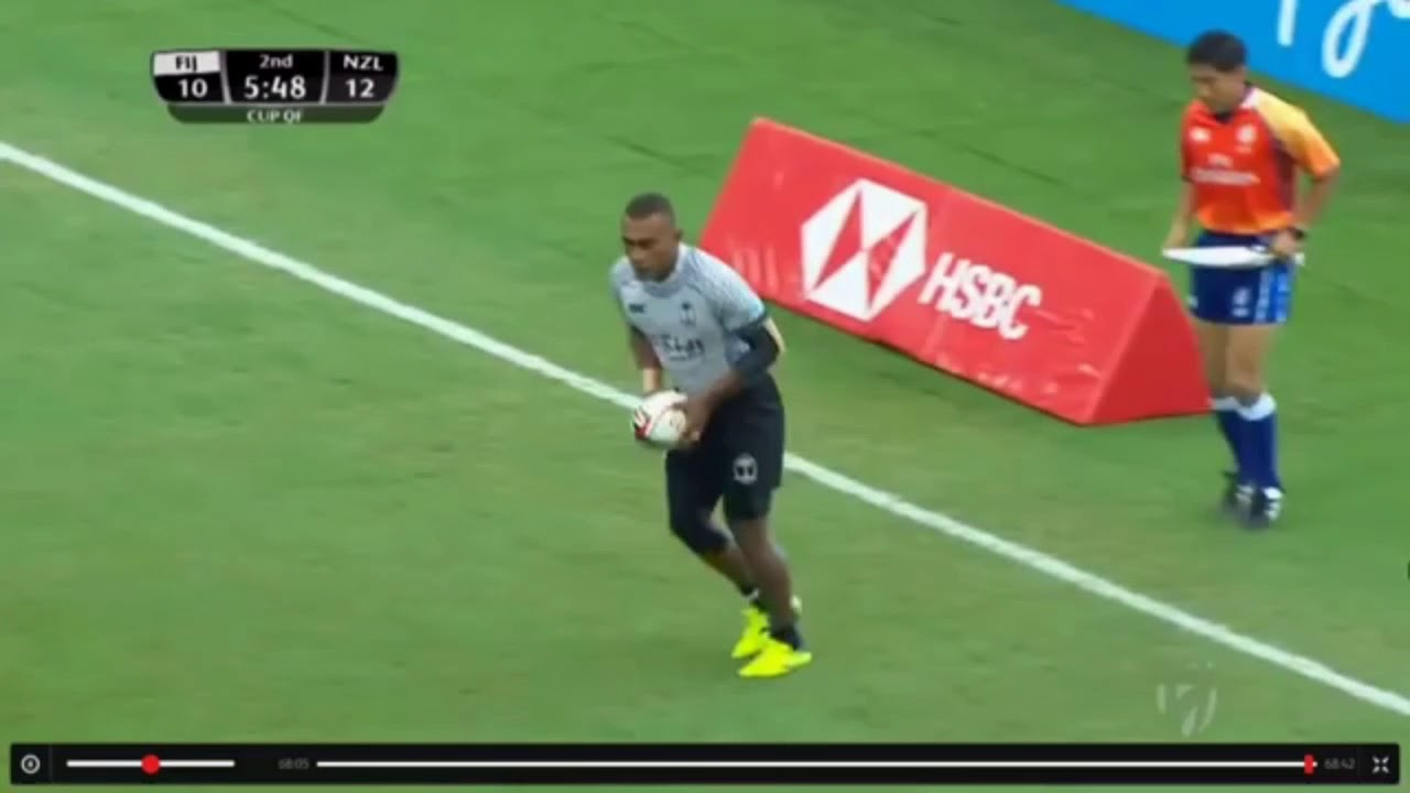 Fiji Highlights vs New Zealand  ( 2018 Singapore 7s Cup Quarterfinals )